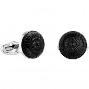 Gourmande Cufflinks Black (10365300)