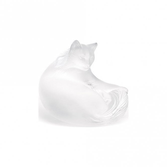 Lalique Happy Cat Clear (1179500)