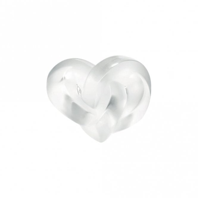 Lalique Heart Paperweight Clear (1184700)