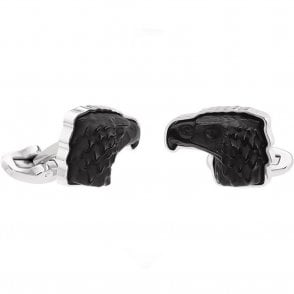 Mascottes Eagle Cufflinks Black (10337500)