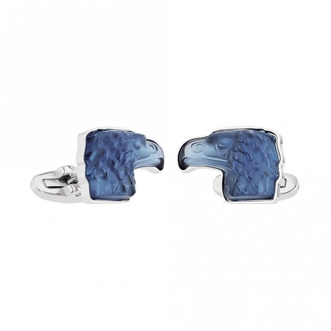 Lalique Mascottes Eagle Cufflinks Blue (10605400)