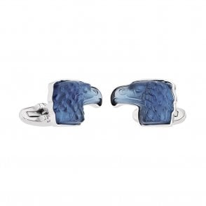 Mascottes Eagle Cufflinks Blue (10605400)