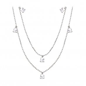 Muguet Long Necklace Clear (10105400)