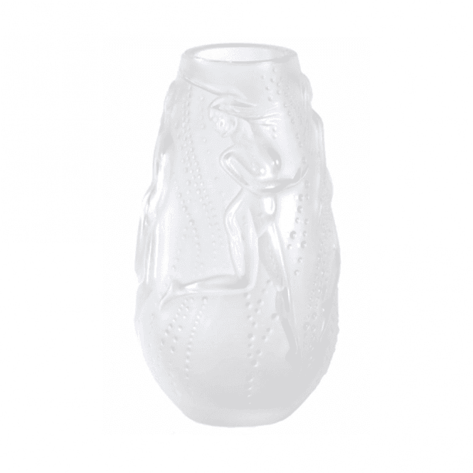 Lalique Nymphae Vase Clear (1262700)
