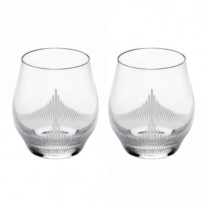 Lalique Pair of 100 Points Whiskey Tumblers (10332800)