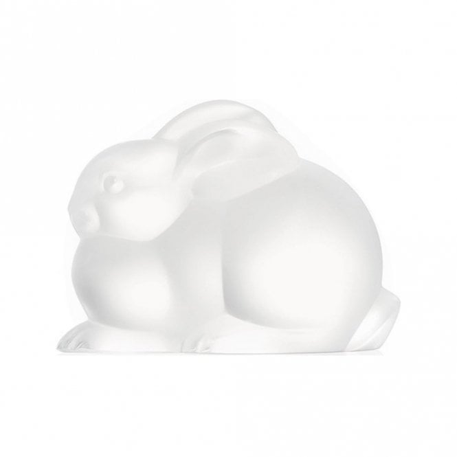 Lalique Rabbit Resting Clear (1210500)