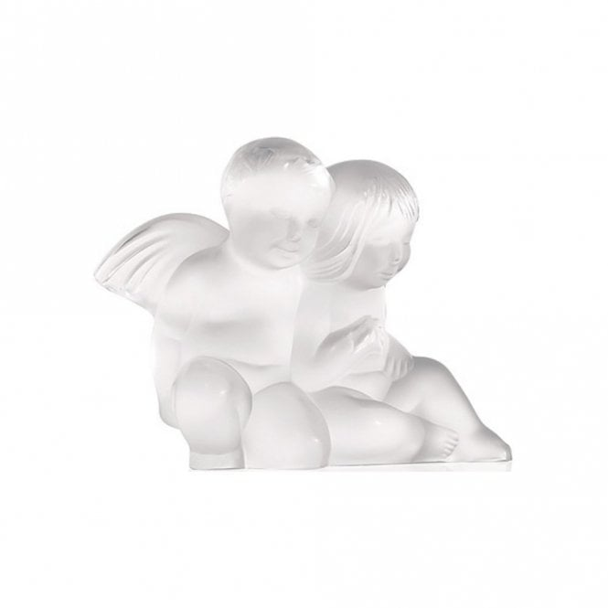 Lalique Twin Angels Clear (1209300) *discontinued*