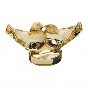 Two Lovebirds Gold Luster (10371300)