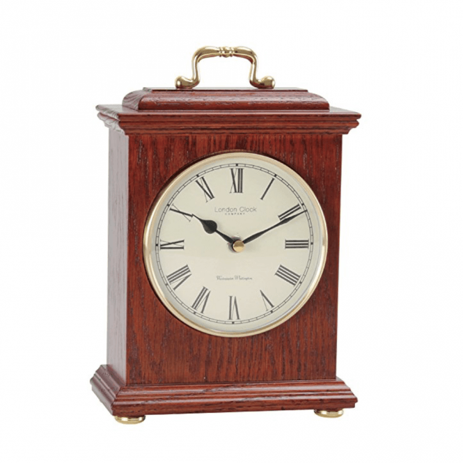 London Clock Company Wooden 4x4 Chime Clock (03088)
