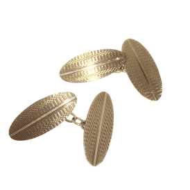9ct Gold Vintage Cufflinks