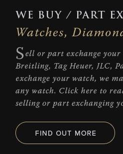We Buy/Part Exchange