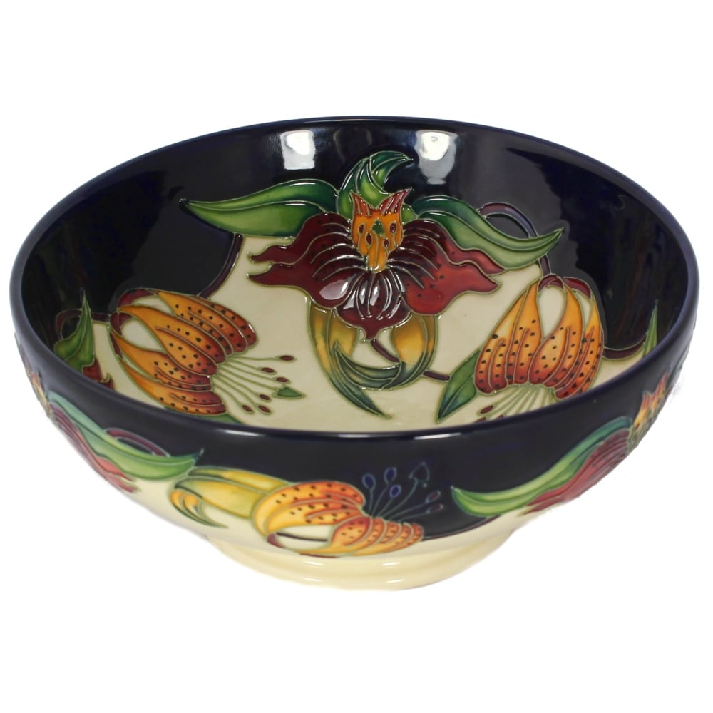 Moorcroft Anna Lily Bowl 71 6 Moorcroft From Griffin Jewellers Uk