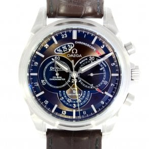Gents De Ville Co Axial Chronoscope GMT 42213445213001