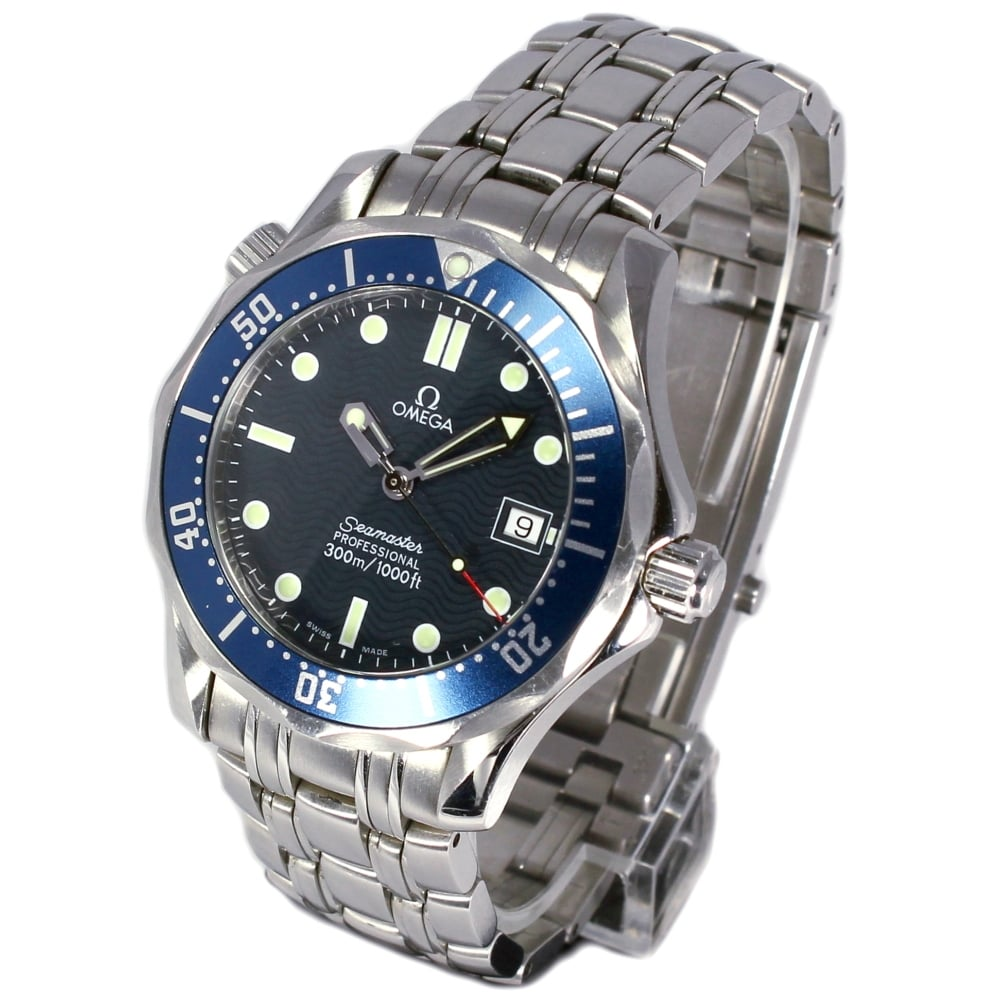 Omega gents seamaster pro 300 25618000 omega from griffin jewellers uk for Omega seamaster professional