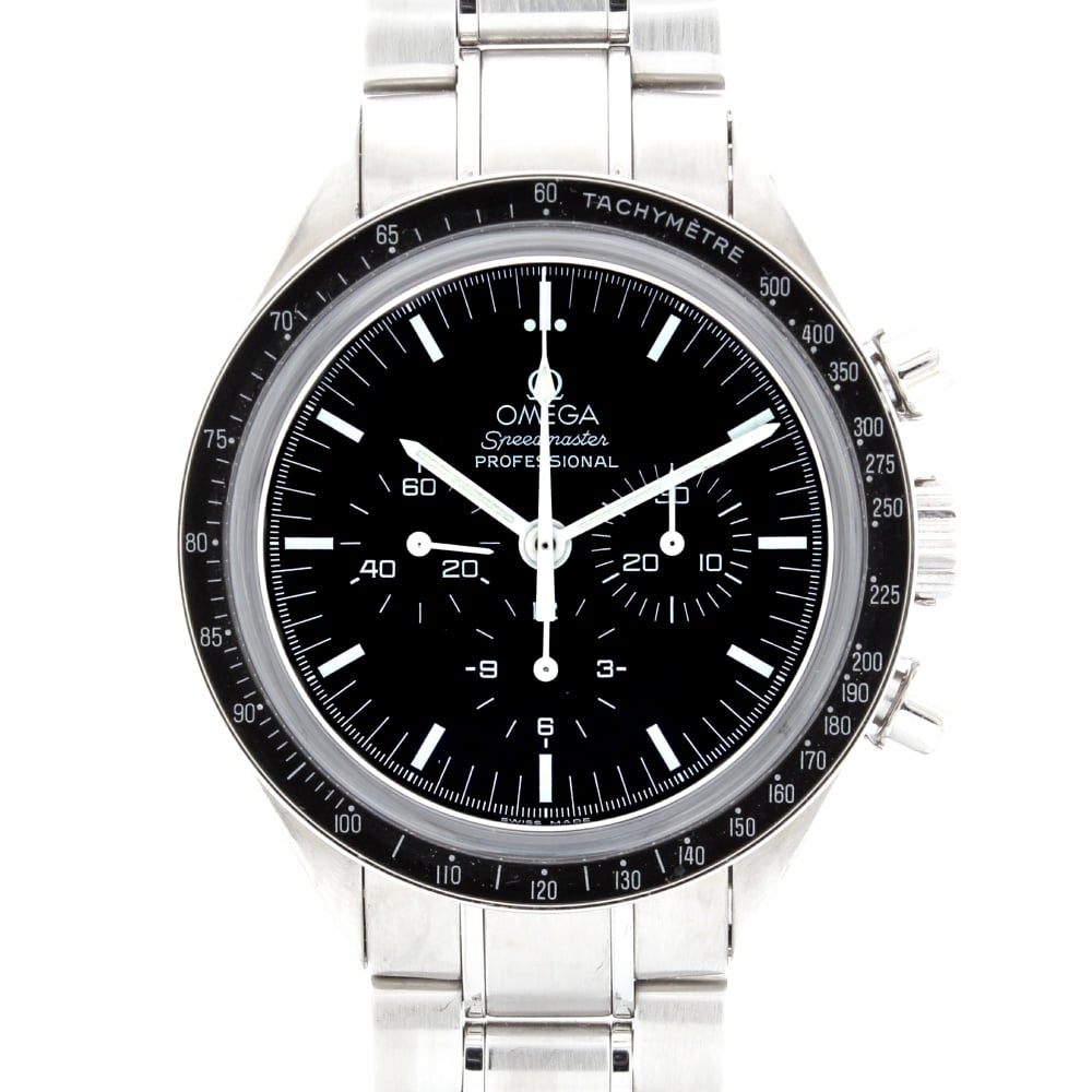 Omega gents speedmaster moon watch 35735000 omega from griffin jewellers uk for Omega watch speedmaster