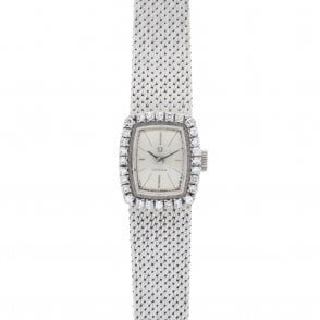 Vintage Ladies Diamond Bezel