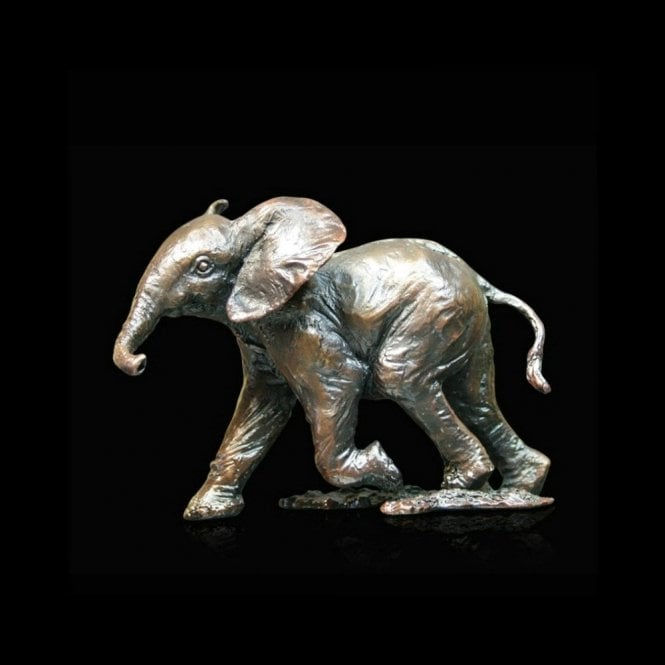 Richard Cooper & Company Baby Elephant Running (974)
