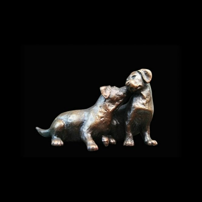 Richard Cooper & Company Labrador Puppy Pair (844)