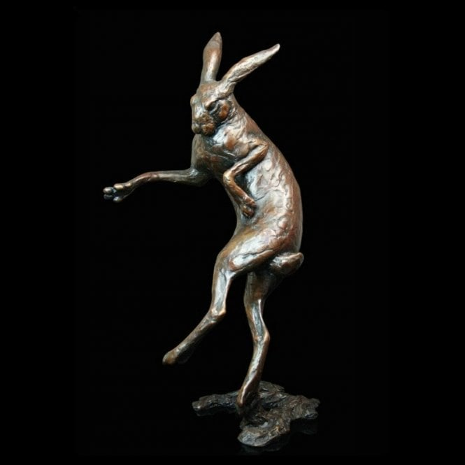 "Richard Cooper & Company Large Boxing Hare ""In Morning Mist"" (575)"
