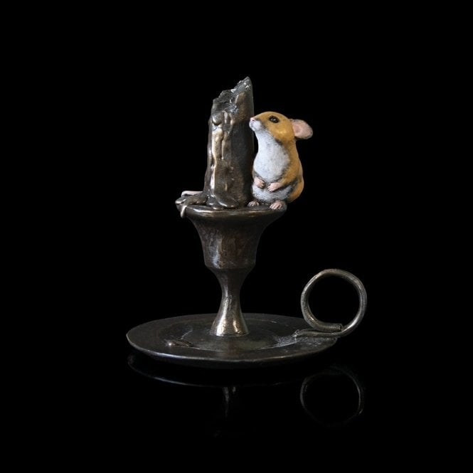 Richard Cooper & Company Mouse on Candlestick (225BR)