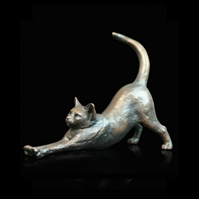 Richard Cooper & Company Small Cat Stretching (919)
