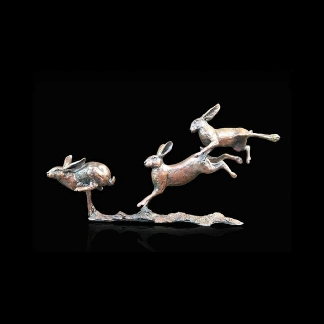 Richard Cooper & Company Small Hares Running (801)