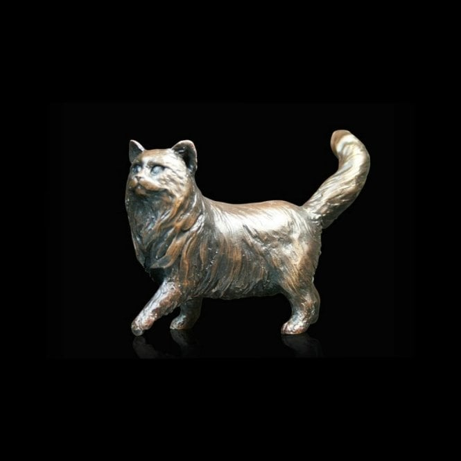 Richard Cooper & Company Small Long Haired Cat Standing (926)