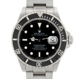 Gents Oyster Perpetual Submariner Date 16610