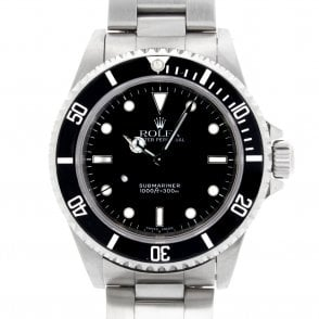 Gents Oyster Perpetual Submariner Non Date 14060