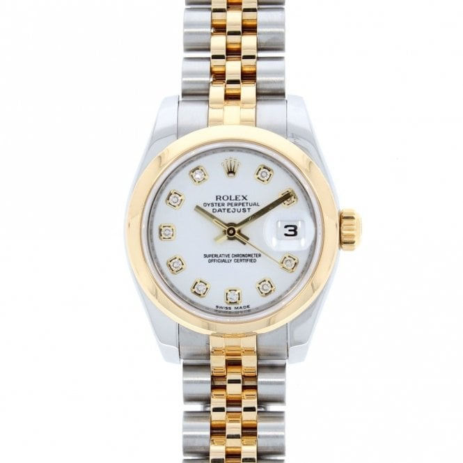 Rolex Ladies Oyster Perpetual Datejust 179163