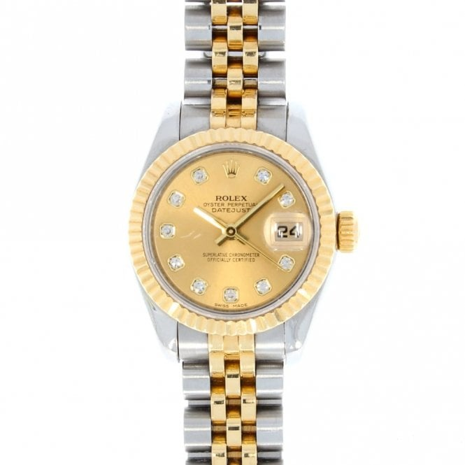 Rolex Ladies Oyster Perpetual Datejust 179173