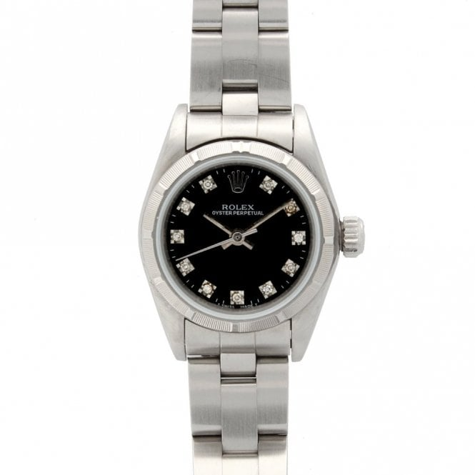 Rolex Ladies Oyster Perpetual None Date 76030