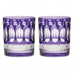 Pair of Belgravia Tumbler Purple (BELAMB2LT)