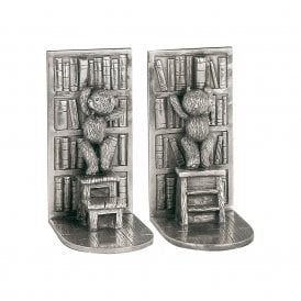 Teddy Bear Bookends (6111R)