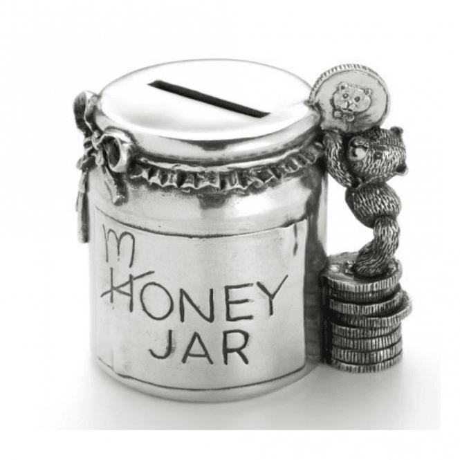 Royal Selangor Teddy Money Jar (016502R)