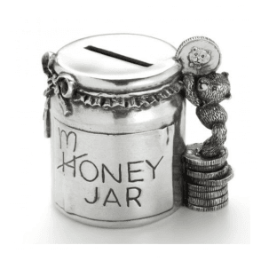 Teddy Money Jar (016502R)