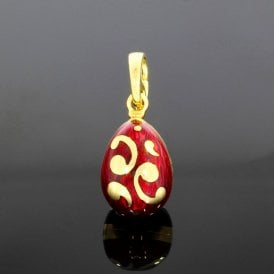 F1428RT Faberge Egg Pendant (ref. 18.5.19 OEDS.SS)