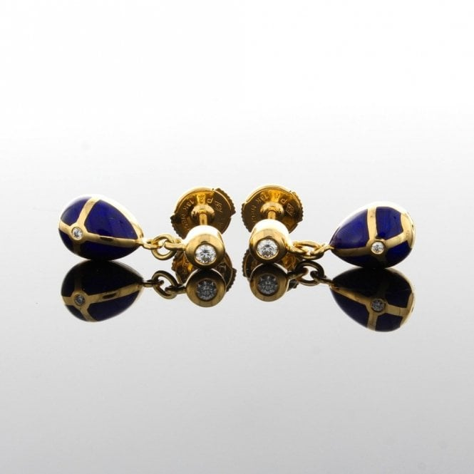Sold F2267BL Faberge Earrings (ref. 12.18 UEDS.SS)