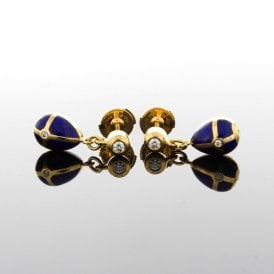 F2267BL Faberge Earrings (ref. 12.18 UEDS.SS)