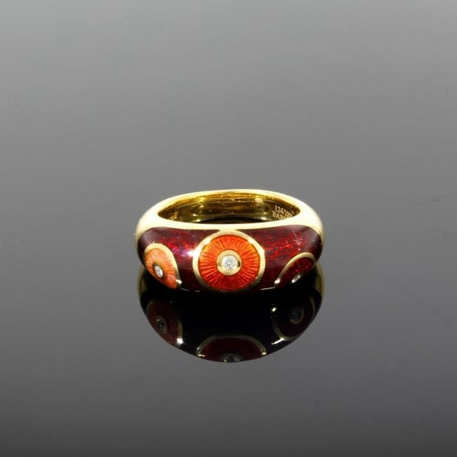 Sold F2883 Faberge Ring (ref. 16.7.18 UDSS.SS)