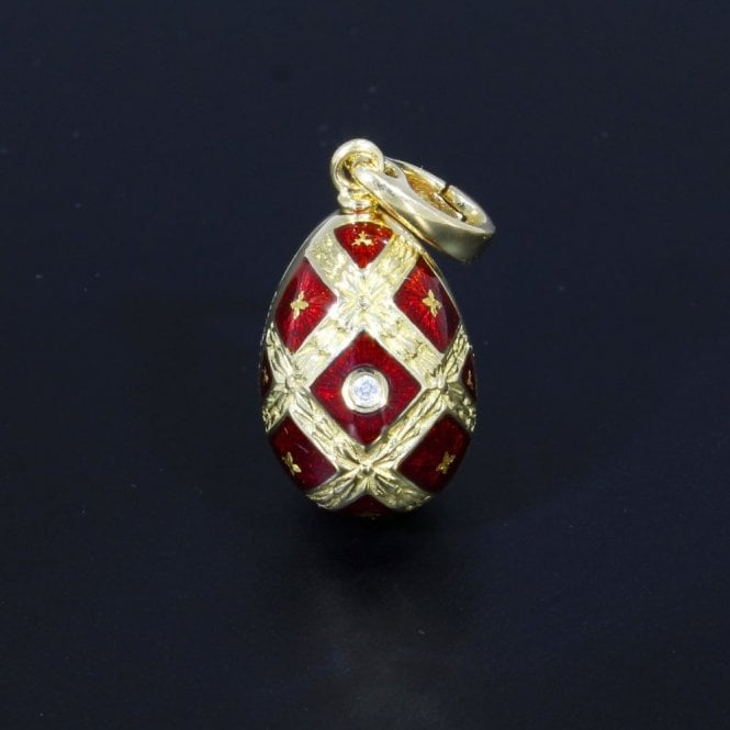 Sold Faberge F2277 Egg Pendant (Ref. 19.12.2017 UEDS.SS)