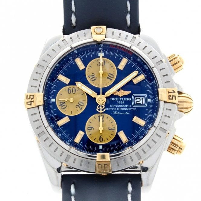 Sold Gents Breitling Chronomat Evolution B13356 (ref. UUDS.SS 27.5.18)