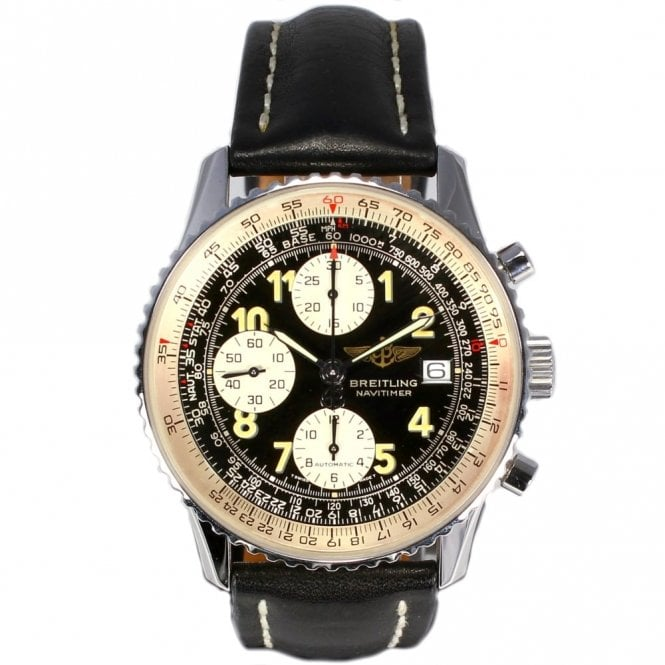 Sold Gents Breitling Old Navitimer II A13022