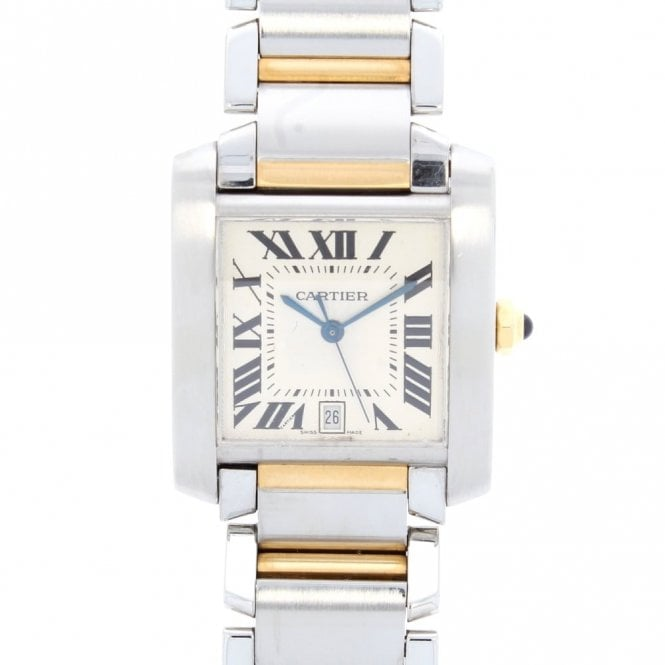 Sold Gents Cartier Tank Francaise 2302 (ref. OUSS.SS 26.3.2018)