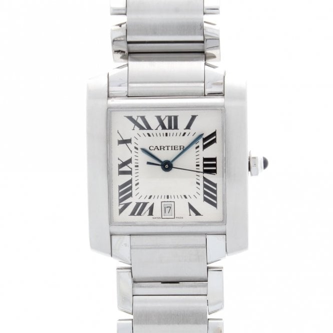 Sold Gents Cartier Tank Francaise WW1002Q3 (OUDS.SS 31.08.19)