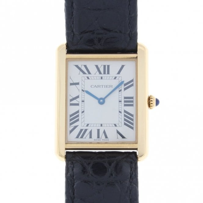 Sold Gents Cartier Tank Solo 3167 (ref. 2.5.18 OESS.SS)