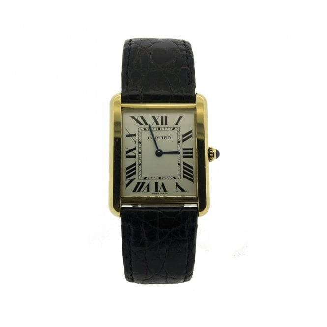 Sold Gents Cartier Tank Solo 7242 (Ref. 9.5.17 ORSS.SS)