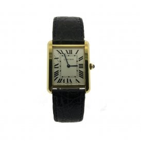 Gents Cartier Tank Solo 7242 (Ref. 9.5.17 ORSS.SS)