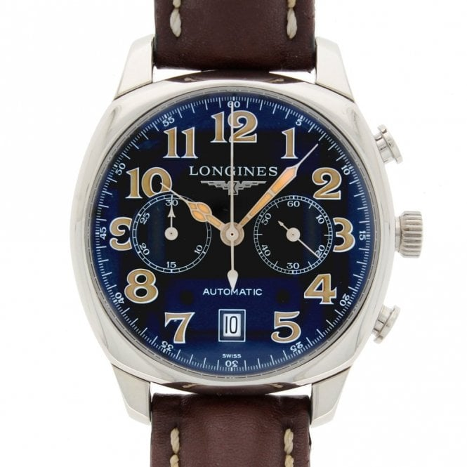 Sold Gents Longines Spirit Chronograph L27054 (ref. 11.2.19 BUDS.SS)