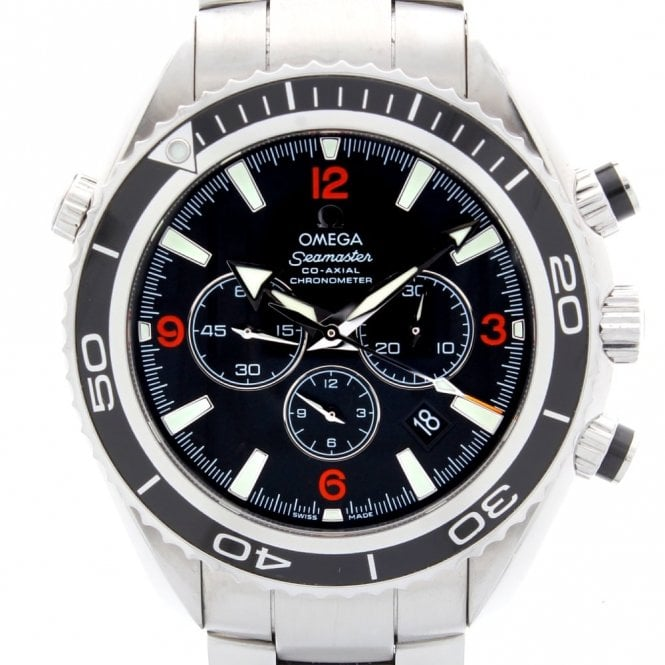 Sold Gents Omega Seamaster Planet Ocean Chronograph 2105100 (ref. 11.2.19 UEDS.SS)